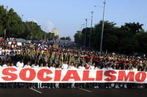 Първомайска демонстрация в Куба, 2011