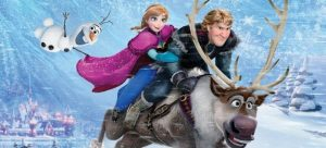 Frozen ride